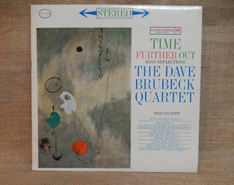 DAVE BRUBECK - Time Further Out  - 1962 Vintage Vinyl Record Album