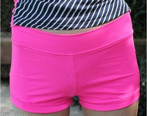 Bahama Mama Boy Shorts: Women's Boy Shorts Sewing Pattern, Women's Swimsuit Sewing Pattern, Women's Tankini Pattern