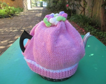 Tea Cosy - Hand Knitted - Tea Cozy - Tea Cozies - Tea Cosies - Teapot Cozy