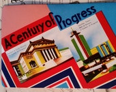 Vintage Sewing Needle Book A Century of Progress Chicago's World's Fair 1933-34