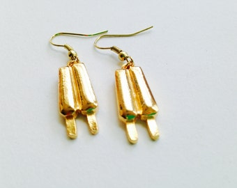 Popsicle Earrings, Vintage Earrings, Earrings