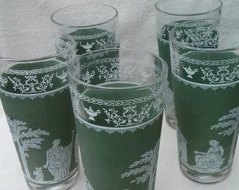 Vintage Glass Tumblers