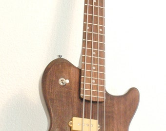 Vintage Les Paul Bass Copy Arbor Voyager from the 70s Great Shape