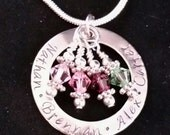 Mother's Day Necklace Hand Stamped