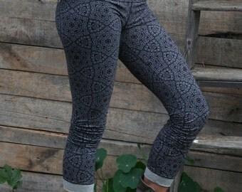 Printed Leggings, Star Flake Leggings.