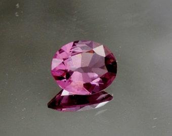 Purple Spinel Precision Cut 10 x 8.4 MM Oval Gemstone Sapphire Alternative