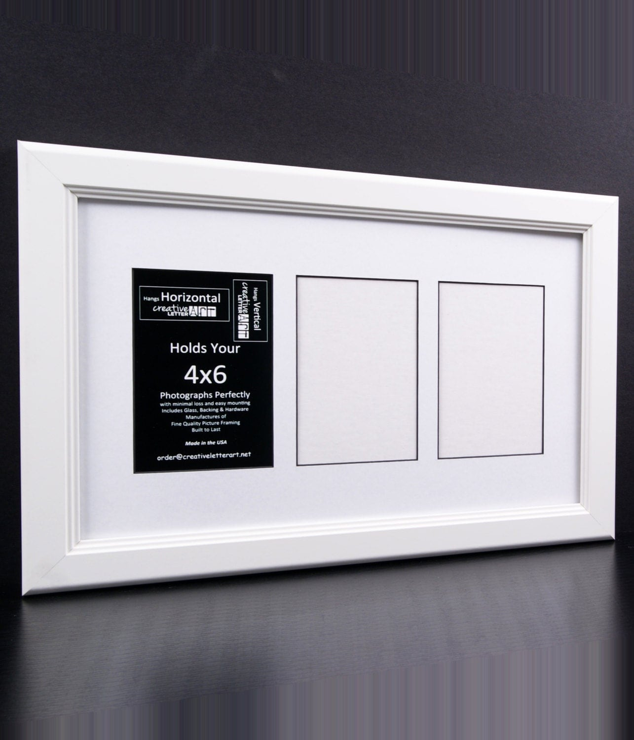 4x6 white picture frames with 3 4 5 6 7 8 9 10 multi opening 2995 jeuxipadfo Gallery