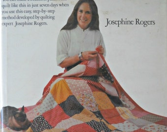 The 7-Day Quilt, by Josephone Rogers, Vintage 1979