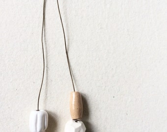 Big Bead necklace neutral