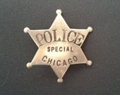 Chicago Special Police Badge