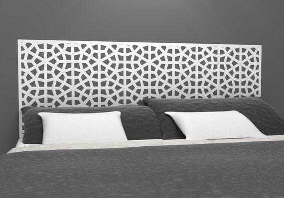 Moroccan Style Headboard Decal  Vinyl wall sticker decal  Moroccan ...