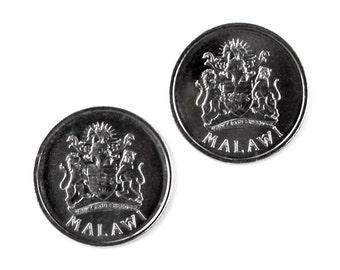 Malawi Coin Cufflinks - Men's Jewelry - Handmade - Gift Box Included