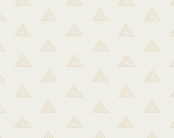 Metallic Gold Triangle Crib Bumpers - Gold Crib Bumpers - Triangle Crib Bedding