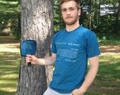 Antimatter Definition T-Shirt - Blue Organic