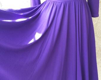 Purple Vintage Dress
