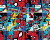 122000155 - Marvel Immortals - Spider-Man Quilting Cotton Fabric - Sold by the yard