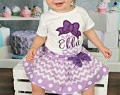 Girls 1st Birthday Outfit - Purple first birthday outfit - 1st Birthday outfit - Purple bows outfit - 2nd birthday outfit birthday outfit