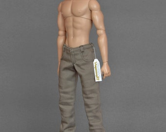 1/6th scale pants trousers for: Fashion Royalty male dolls and taller figures