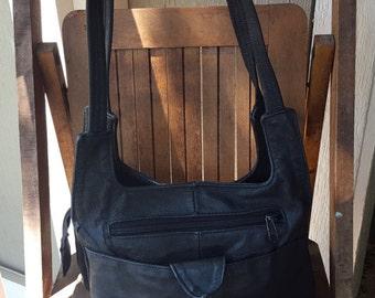 HANG     ///   Leather Long Hip Bag