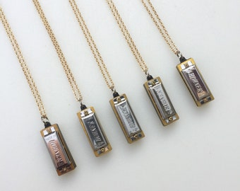 Harmonica Necklace G