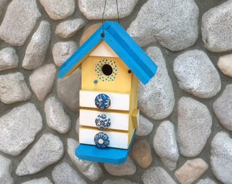 Birdhouse, Functional Unique Birdhouses, Bird Supply, Item#BH00793