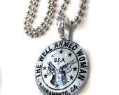 Reserved - TWAW (The Well Armed Woman) Sacramento Chapter Pendants