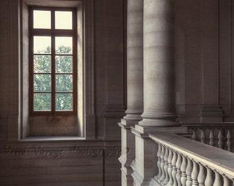 Architecture Art, Window Photograph, Cream Home Decor, Columns Photograph, Tan Decor, Interior Design, Classic Decor, Photos Of France