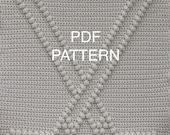 Hockey Baby Blanket Pattern - Crochet Pattern - Crochet Baby Blanket  - Baby Snuggle Blanket  - Car Seat or Stroller Blanket