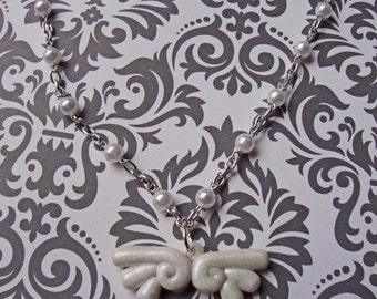 Kawaii Angel Wing Necklace