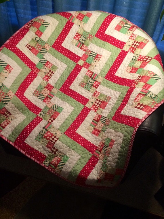 Modern are all together in this 34 quot x 34 quot wonky stair block quilt