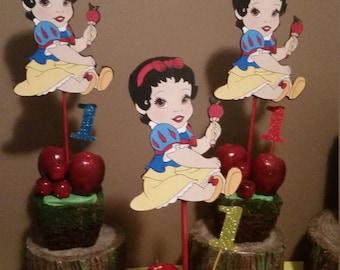 Baby Snow White Centerpiece