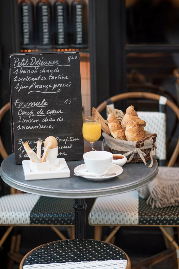 Paris kitchen photography petit dejeuner breakfast in for H kitchen paris menu