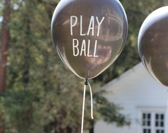 Play Ball Balloons :  Baseball Party