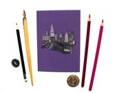 Harry Potter Postcard Hogwarts Postcard Cute Postcard Mini Print Unframed