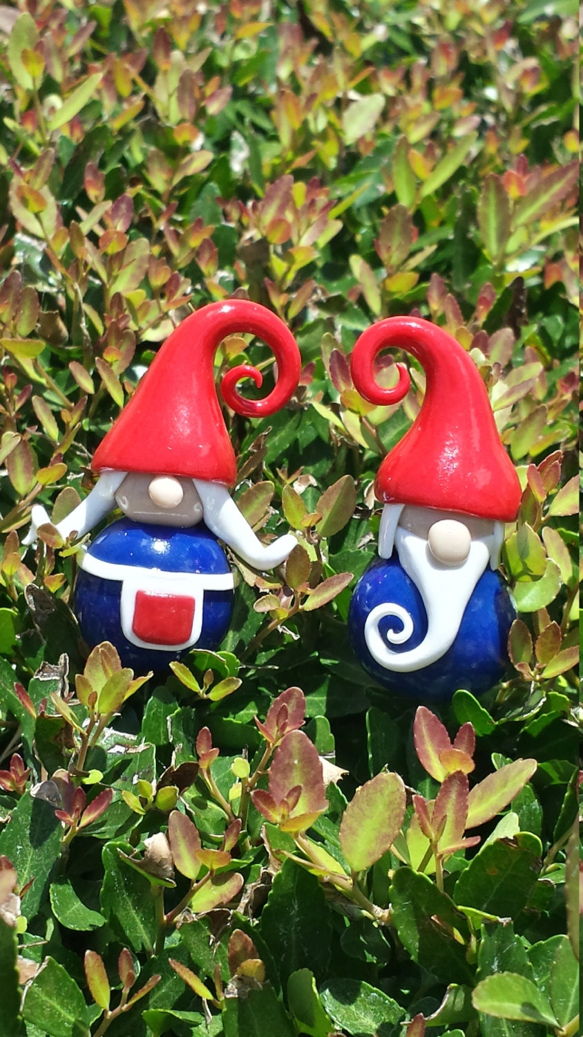 how to make a garden gnome out of clay