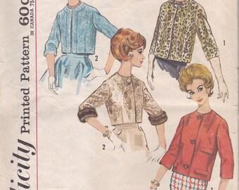 Lined Jacket Pattern Simplicity 4655 Size 14