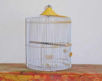 Antique Vintage Bird Cage