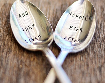 wedding spoon set