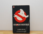 SALE! Ghostbuster paperback book, vintage book of the film, 1980s film