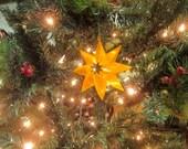 Three 3D printed Christmas Ornaments