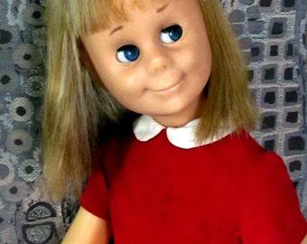 "Vintage Mattel ""Charmin Chatty"" Chatty Cathy Doll 1960's Charm VGC"