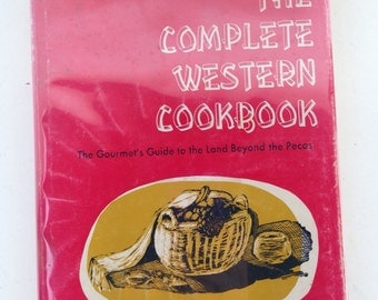Vintage 1964 hardcover The Complete Western Cookbook by Betty Johnson 1500 recipes