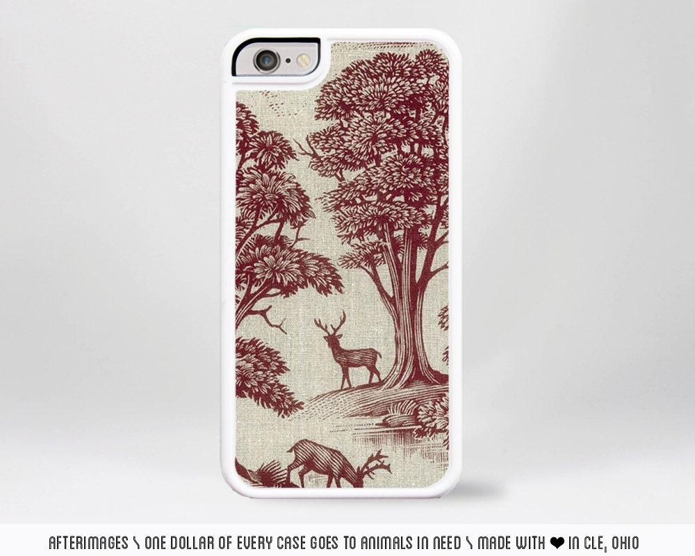 Christmas Reindeer Iphone Wallpaper Deer Iphone Case / Iphone 6