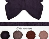 Butterfly Sleep Mask, Linen travel mask, Many color variations