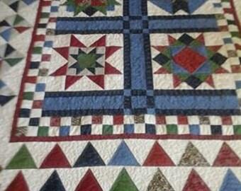 doulble sized sampler quilt