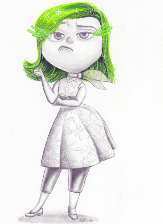 Disgust Inside out pix...