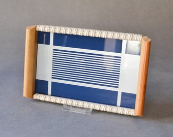 Vintage tray GDR East German serving 60s Mid Century dinner party entertaining bar wall