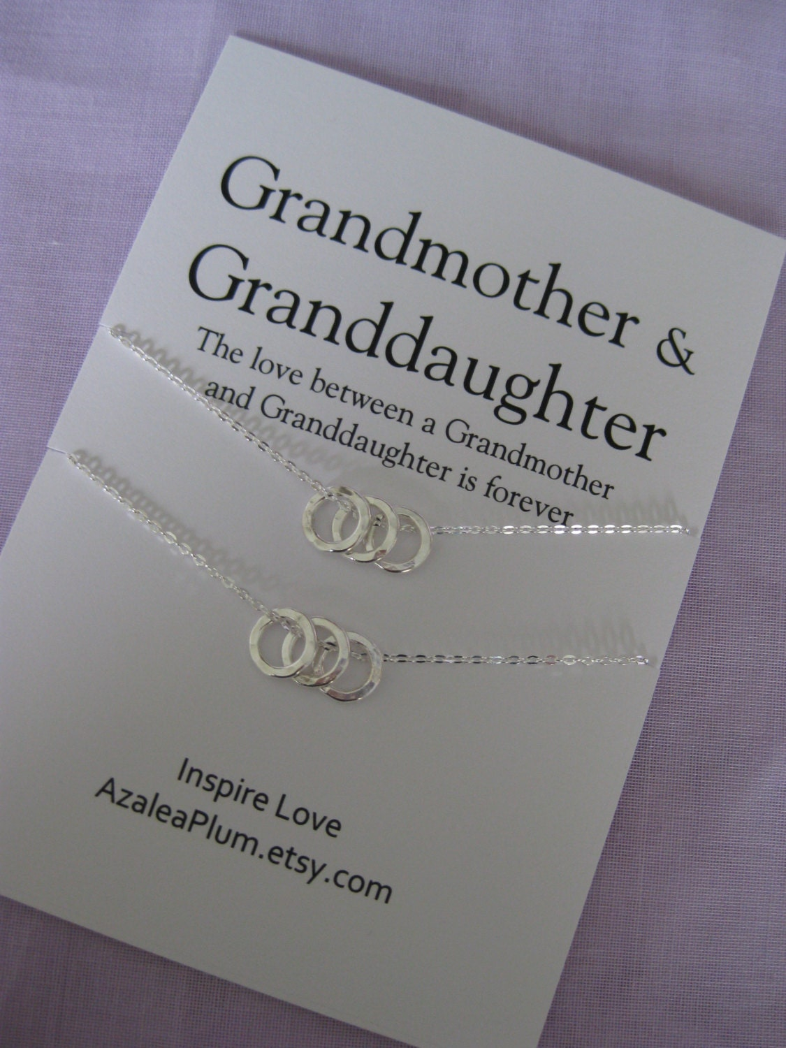 Grandma necklace 60th birthday gift for grandmother grandma for Birthday gifts for grandma from granddaughter