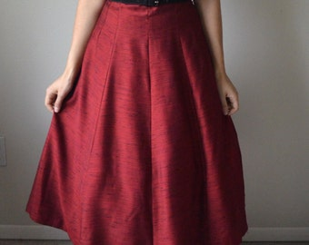 Candy Apple Red 50s Formal Cocktail Full Skirt New Look Dress
