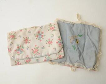 Handmade Hosiery Jewelry Cases Floral Butterflies